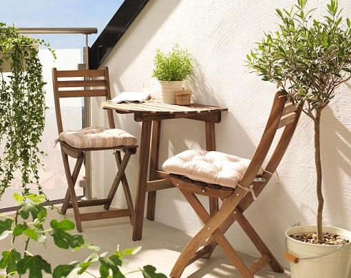 Decorar el balc n o terraza con ikea ideas low cost muy resultonas mueblesueco - Ikea ideas jardin pau ...