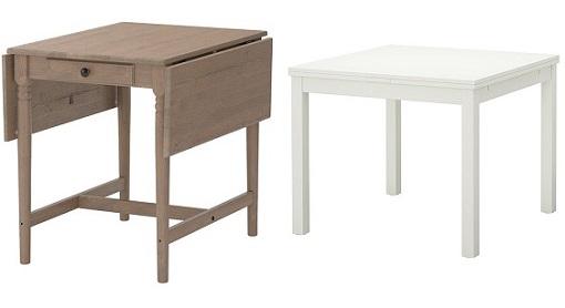 Casas cocinas mueble mesas plegables ikea for Loquo muebles
