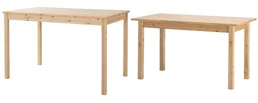 Mesas de madera mueblesueco - Cocinas de madera para ninos ikea ...