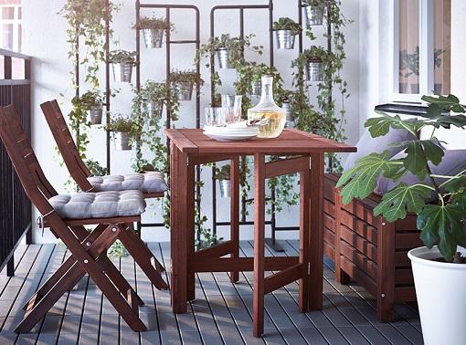 Mobiliario de jardín Ikea