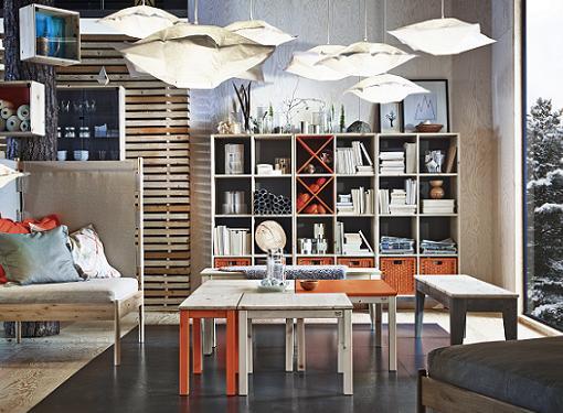 NORNAS, la nueva serie de muebles Ikea de estilo nórdico