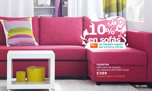 Ofertas Ikea marzo 2014