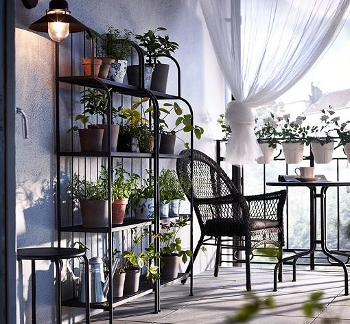 Decoracion Terrazas Ikea ~ Decorar el balc?n o terraza con Ikea ideas low cost muy resultonas