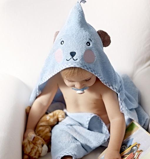 Toalla para bebé de Ikea