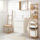 armario y estanterias para el baño de ikea