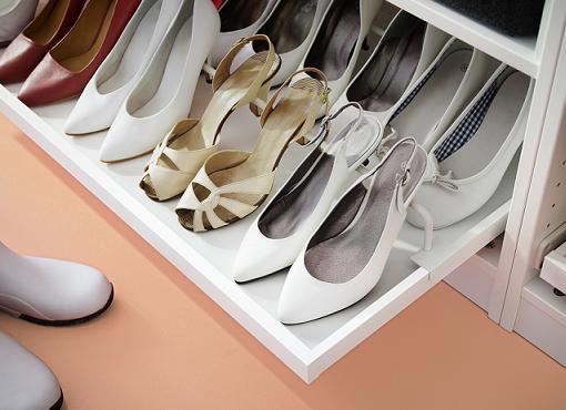 Lo mejor en armarios a medida de ikea para tu ropa - Zapateros interior armario ...