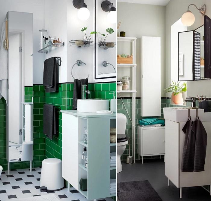 armarios estanterias baño ikea LILLÅNGEN