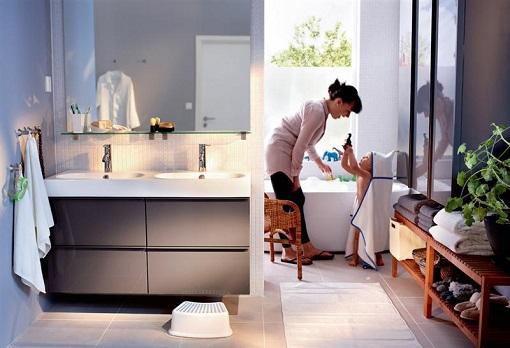 Doble lavabo ikea
