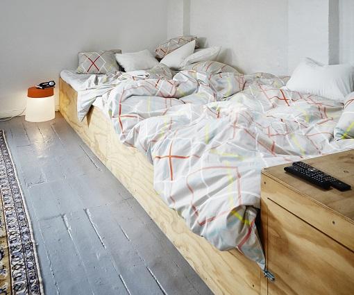 Dormitorio Ikea pequeño