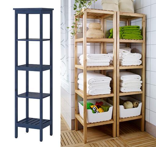 Hacer Estantes Para Baño:Armarios y estanterías para el baño de Ikea – mueblesueco