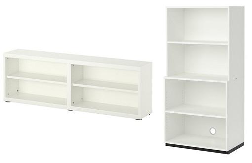 10 estanterías blancas de Ikea para mantener tu salón en ... - photo#41