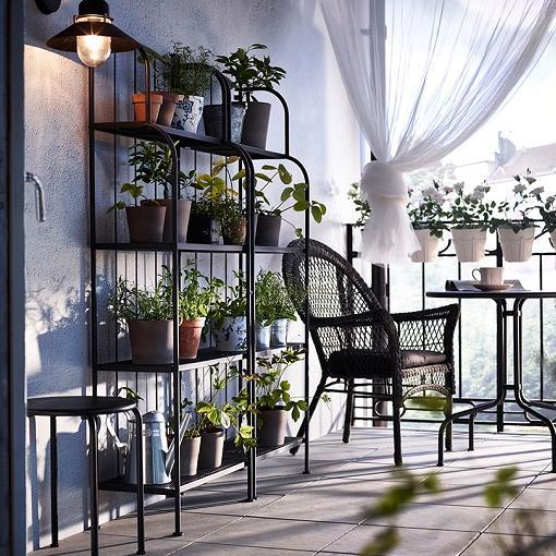 Ideas balcón Ikea