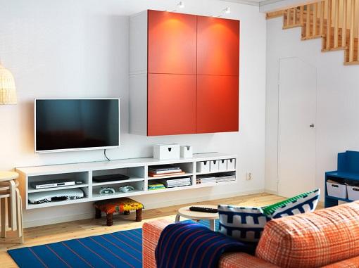 Ideas para salones peque os mueblesueco - Ideas salones pequenos ...