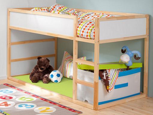 ikea camas niños kura