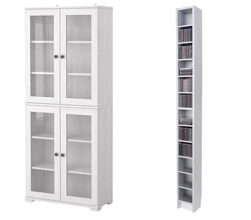 Casas cocinas mueble estanterias estrechas for Ikea puertas para estanterias