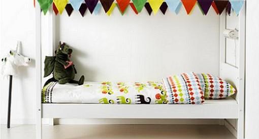 Las nuevas camas de Ikea niños: Habitaciones infantiles para crecer feliz
