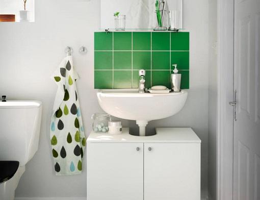Lavabos Para Baños Estrechos:Lavabos Ikea de todos los estilos para tu cuarto de baño