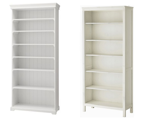 10 estanter as blancas de ikea para mantener tu sal n en for Puertas blancas ikea