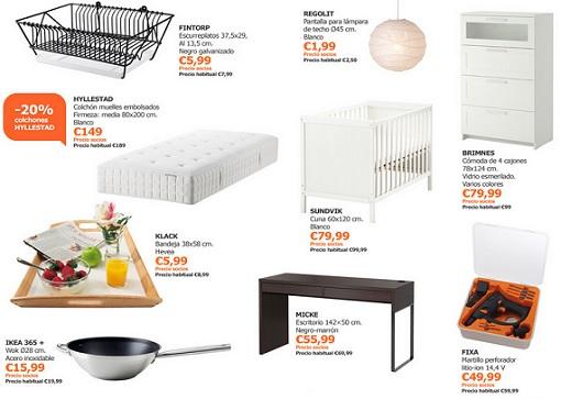 Ofertas Ikea abril 2014