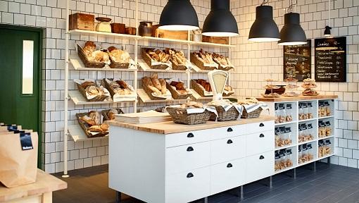 panadería con muebles Ikea