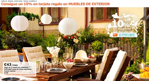 Best muebles de jardin ofertas ideas awesome interior - Mobiliario de jardin ikea ...