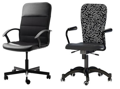 sillas de oficina de Ikea