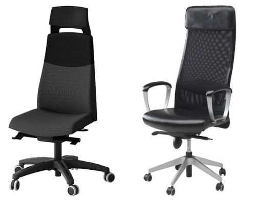 Sillas de oficina Ikea: de diseño moderno, cómodas y baratas ...