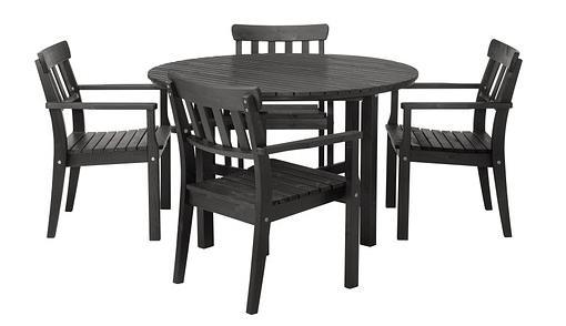Muebles de exterior para tu terraza y jardin ikea share - Conjunto mesa y sillas cocina carrefour ...