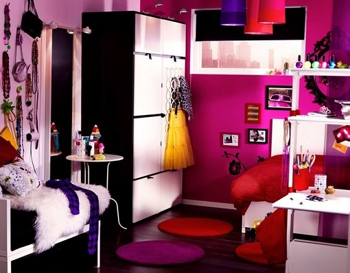 dormitorio juvenil para niña