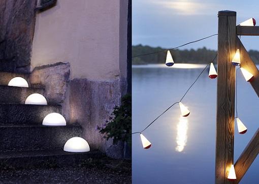 Renueva la iluminaci n de tu casa con las nuevas l mparas for Luces exterior ikea