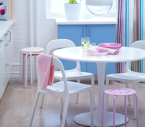 Casas cocinas mueble oferta vitroceramica induccion - Mesa de cocina redonda ...