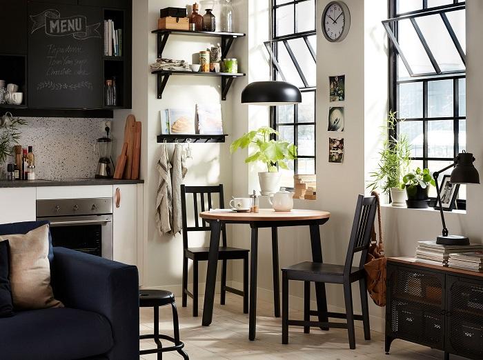 Mesas redondas de ikea para el comedor extensibles de for Mesas redondas de cristal para comedor