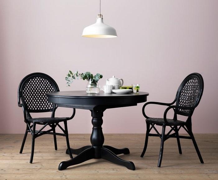 Mesas redondas de ikea para el comedor extensibles de cristal de madera mueblesueco - Mesas de comedor extensibles redondas ...