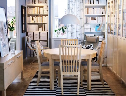 Decoracion mueble sofa: Mesas de comedor redondas ikea
