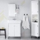 muebles de baño ikea silveran para espacios pequeños