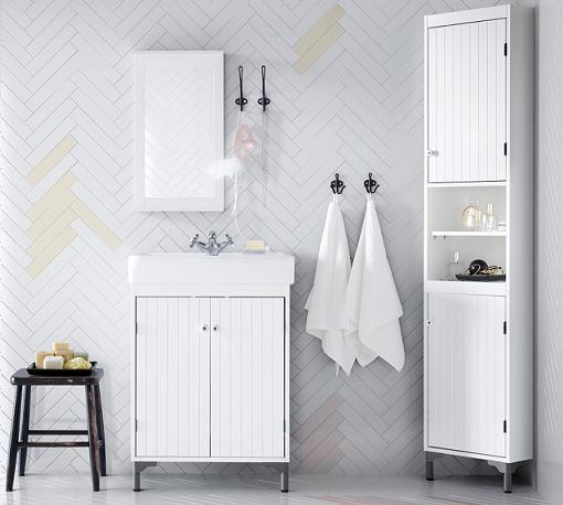 Armarios De Baño Pequenos:Nuevos muebles de baño Ikea: SILVERAN para espacios pequeños
