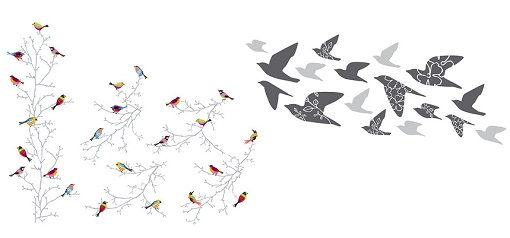 Ikea vinilos decorativos top vinilo decorativo imagenes - Pegatinas pared ikea ...