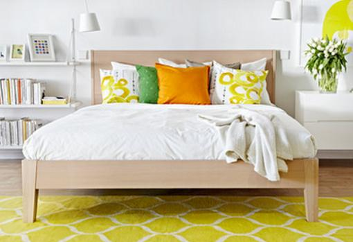 Cama ikea nordli dormitorios juveniles baratos mueblesueco for Ikea camas juveniles