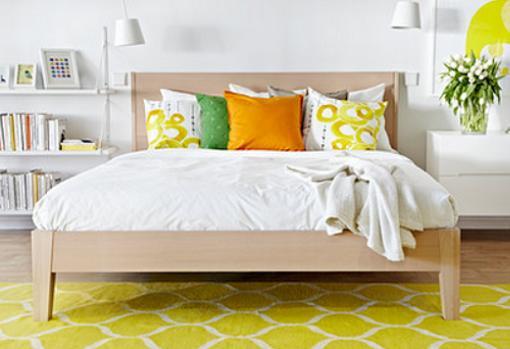 Cama ikea nordli dormitorios juveniles baratos mueblesueco for Dormitorios baratos ikea