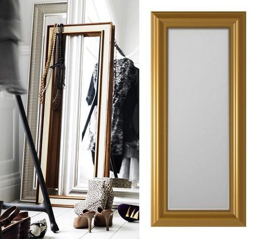 Espejos de decoracion ikea for Pared de espejo precio