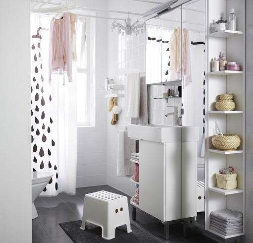 Baño Pequeno Lavadora:Baños pequeños de Ikea: todos los productos de la serie Lillangen