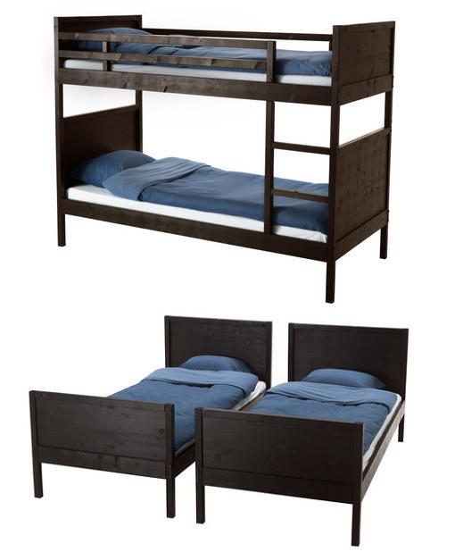 Ikea litera norddal mueblesueco - Ikea habitaciones infantiles literas ...