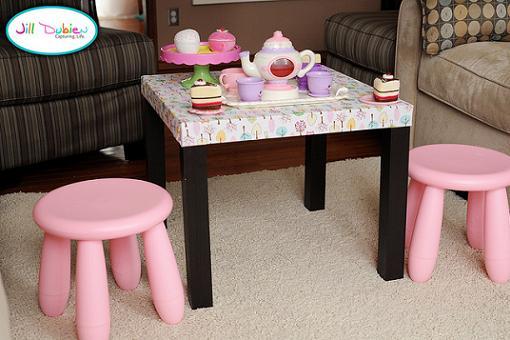 Mesa lack tuneada mueblesueco - Ikea mesa lack blanca ...