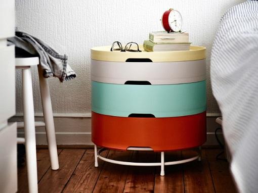 7 muebles juveniles ikea para dar a tu casa un toque fresco y desenfadado mueblesueco - Mesita auxiliar ikea ...