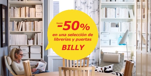 rebajas ikea billy