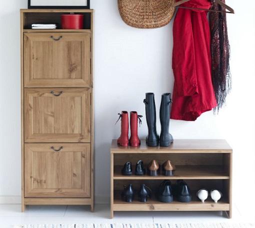 Casas cocinas mueble ladrillo de vidrio - Ikea armario zapatero ...