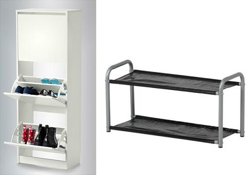 Decoracion mueble sofa armarios zapatero for Armario zapatero conforama