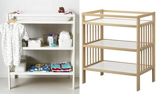 Mueble para cambiar a bebes for Mueble cuadrados ikea