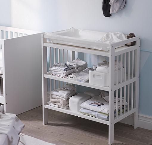 Decorar cuartos con manualidades cambiador bebe ikea gulliver for Muebles cambiadores de bebe