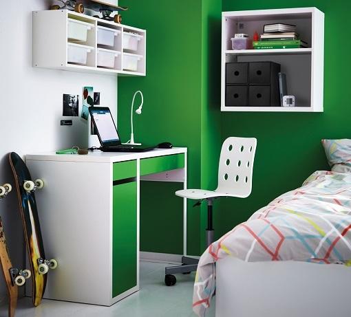 dormitorios juveniles de Ikea vistos en el catálogo 2015